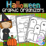 Reading Graphic Organizers for Reading Comprehension: Halloween Themed