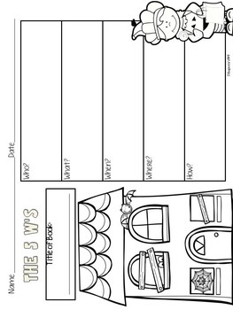 Reading Graphic Organizers for Reading Comprehension: Halloween Activities