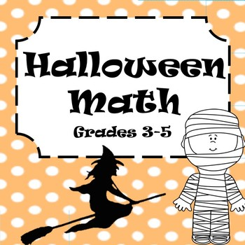 Halloween-themed Math Word Problems