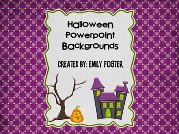 Halloween themed Powerpoint backgrounds