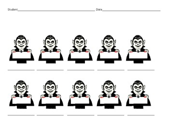 Halloween-themed Programmable Printables