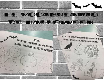 Halloween vocab