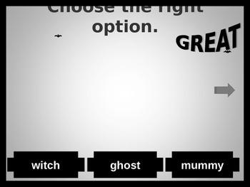 Halloween vocabulary