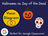 Halloween vs. Day of the Dead - Venn Diagram (Distance Learning)