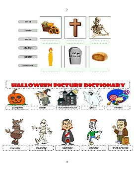 Halloween vs. The Day of the Dead ELL Level 2 and up
