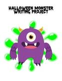 Halloween writing project FREEBIE!