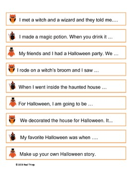 Halloween Writing, Spelling and Vocabulary Packet with Bonus Math Foldables