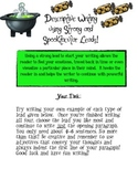 Hallowe'en writing using strong and spooktacular leads