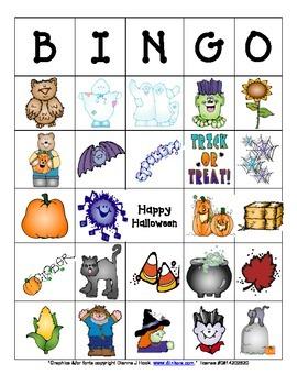 Halloween/Fall Bingo