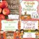 First Grade Halloween and Fall Math Center Bundle