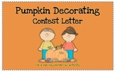 Halloween/Fall Pumpkin Decorating Contest