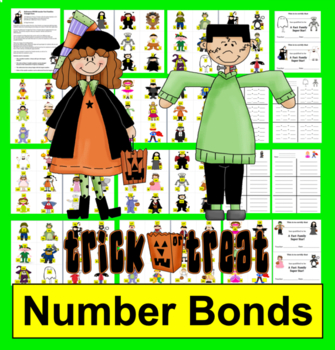 Halloween Math SPOOK-tacular Fact Families!  Addition and Subtraction