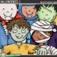 """Halloween Kids Clip Art 1: """"Halloweenies 1"""""""
