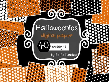 Halloweenies Digital Paper Bundle