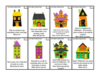 Halloweentown Articulation Inferences Set 1: K, G, L and L vowels