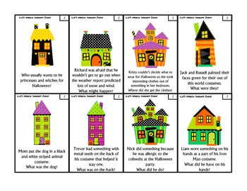 Halloweentown Articulation Inferences Set 3: S, Z, R and R vowels