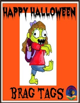 Hallowen Brag Tags
