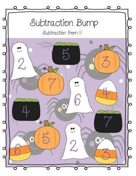 Hallowen Differentiated Subtraction Bump!
