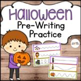 Halloween Pre-Writing Practice