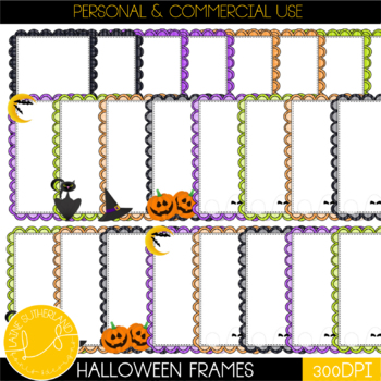 Hallow's Eve Coordinating Frames