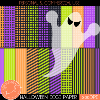 Hallow's Eve Digital Paper