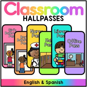 Hallpasses - English & Spanish