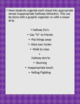 Hallway Behavior Visual Strip