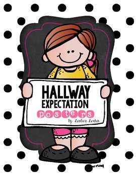 Hallway Expectations Poster Set