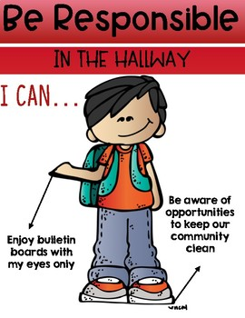 Hallway Expectation Posters