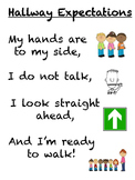 Hallway Expectations Poster