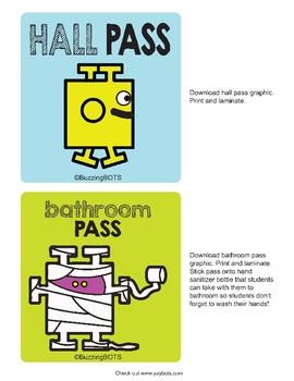 Hallway Pass & Bathroom Pass