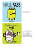 Hallway Pass & Bathroom Pass
