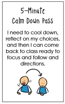 Hallway Passes for Buddy Classrooms