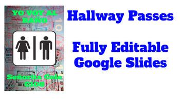 Hallway Passes for Spanish Classes