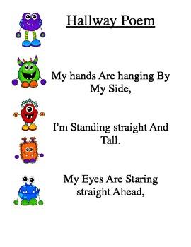 Hallway Poem - Monster