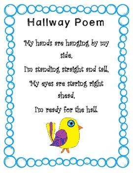 Hallway Poem with Bird clipart