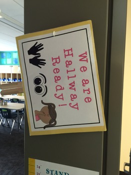 Hallway Ready Sign