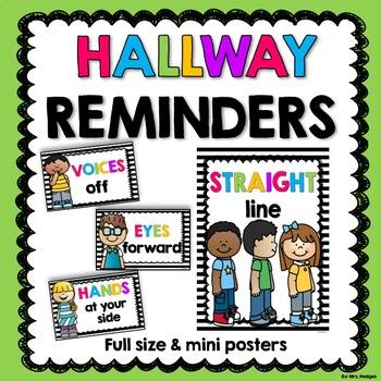 Hallway Reminder Posters