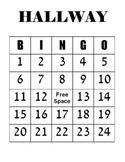 Hallway Rewards Bingo