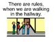 Hallway Rules Adapted Book