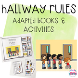 Hallway Rules Interactive Adapted Books and Activities