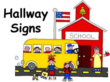 Hallway Signs