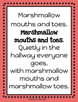 Hallway Transition Poems