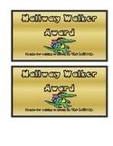 Hallway Walker Award