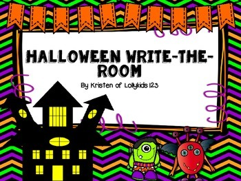 Haloween Write-the-room