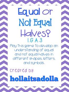 Equal or Not Equal Halves?