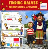 Shapes and fractions Kindergarten - half