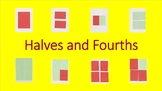 Halves and Fourths-for commercial use.