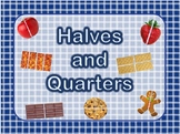Halves and Fourths, Fractions