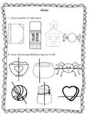 Halves pack - assessment and worksheets